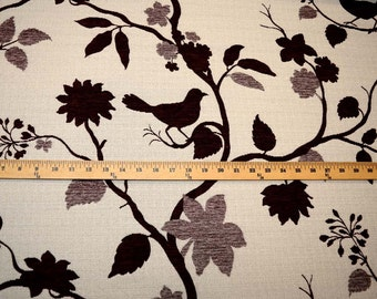 Bird Plum Richloom Fabric
