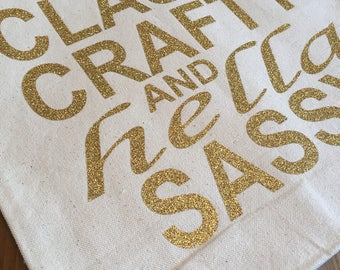 FunTote Bag with lettering