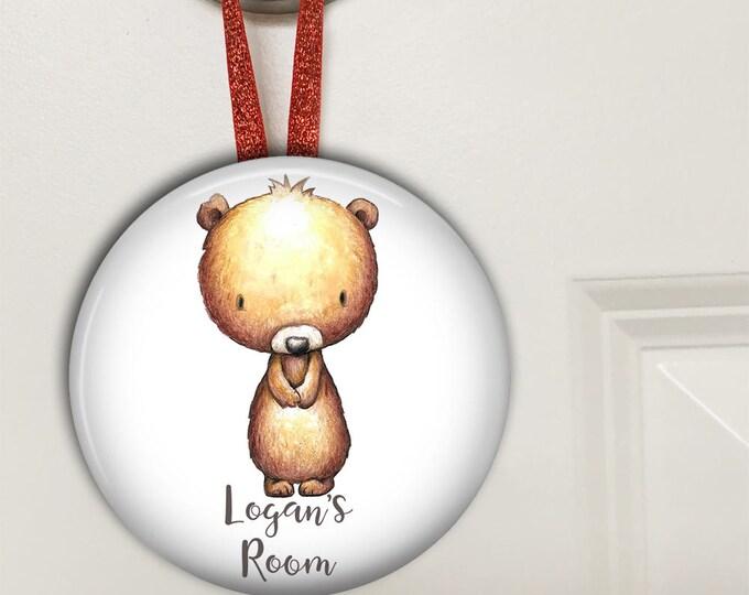 door hangers kids room decor - personalized baby gifts - kids room sign - personalized door signs