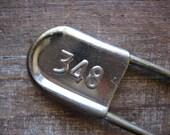 Large Vintage Laundry Pin