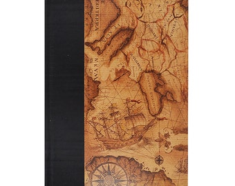 Lined Paper Journal Voyager