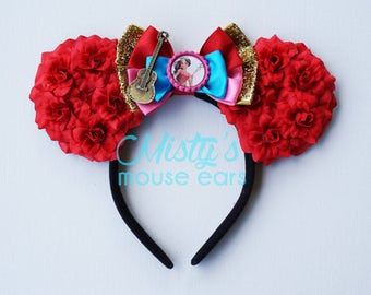 Inspired Elena of Avalor Rose Mouse Ears