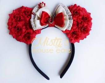 Inspired Moanna Rose Mouse Ears
