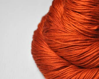 Red-hot metal - Silk/Cashmere Fingering Yarn