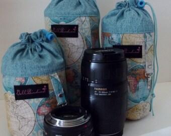Dollbirdies Lens Pouch Set. Lens Luggage, Camera Accessory, Lens Case Set