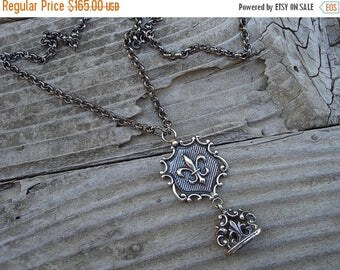 ON SALE Renaissance necklace in sterling silver