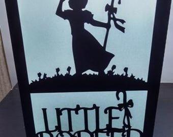 little Bo Peep centerpiece / luminary