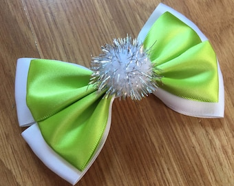 Disney Inspired Tinkerbell (Peter Pan) Hair Bow