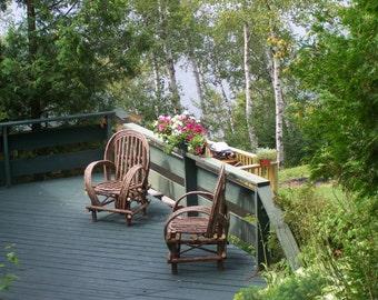 Bentwood Twig Furniture Rustic Chairs Cedar Furniture Indoor Outdoor