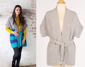 Crochet pattern : Cremosa Cardigan