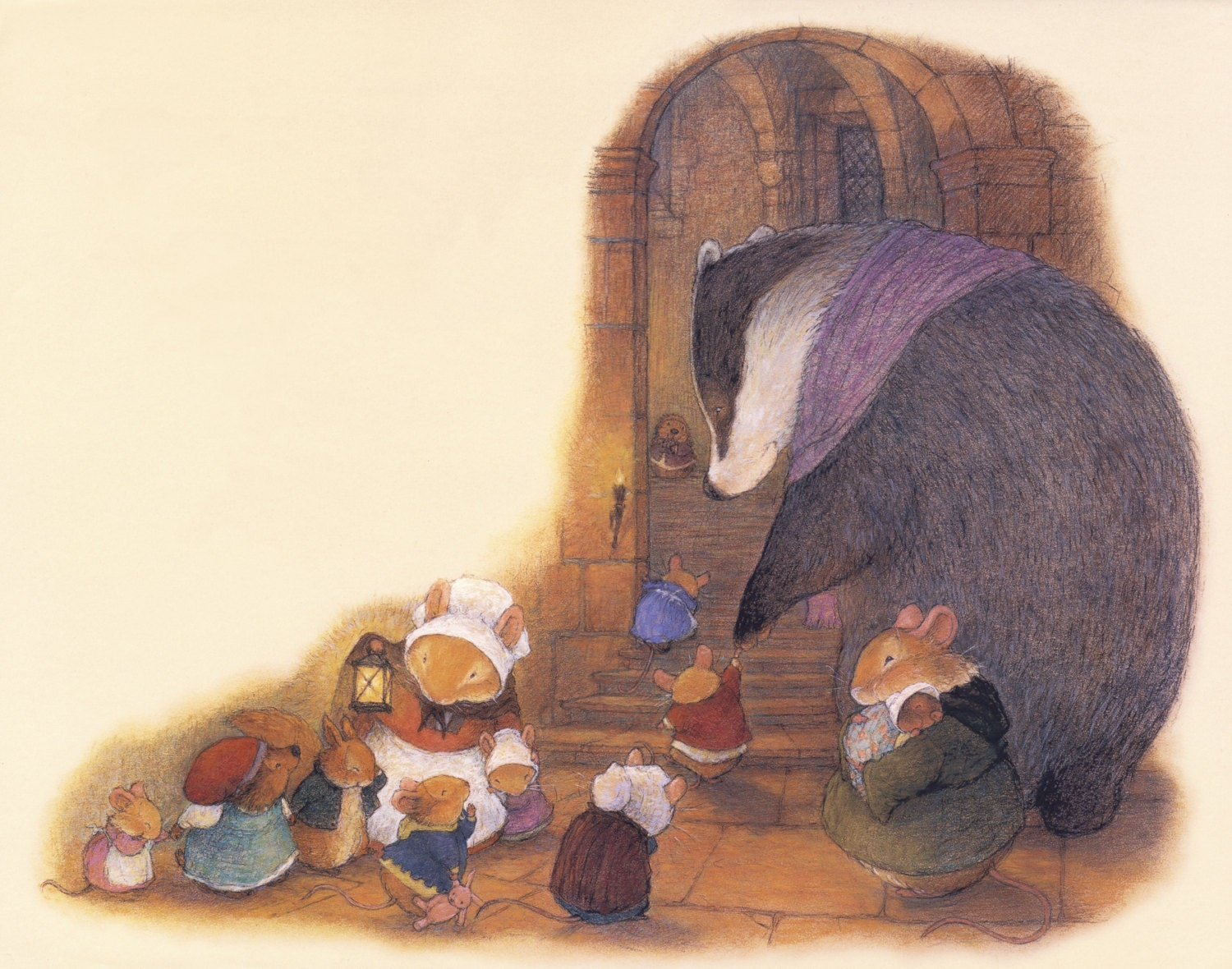 Bedtime at Redwall Abbey