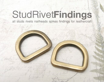 4pcs 18.5mm (inside) ZINC D-ring FOB Purse Hardware Finding for Purse Ring, Clasps Hook Ring dr05/ High Quality