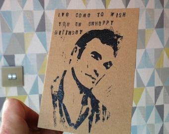 morrissey card  etsy, Birthday card