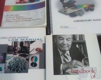 Gem reference guide lot 4 books
