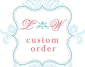 Wedding handkerchiefs Custom Order Listing