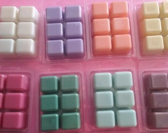 Soywax Melts Tarts, Clam Shells *Choose Your Scent* ~  Set of Two, 3oz Each. Home Fragrance Oil Wax Shots