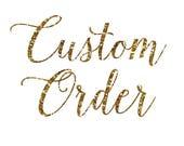 Custom Listing for Lisa Hodges