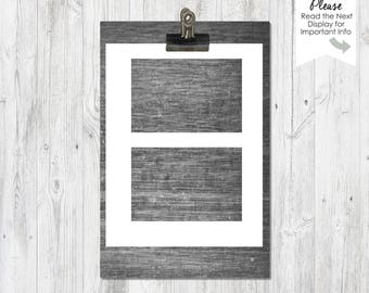 Post Cards | Invitations | Blank templates | Instant Download | 2 sheets