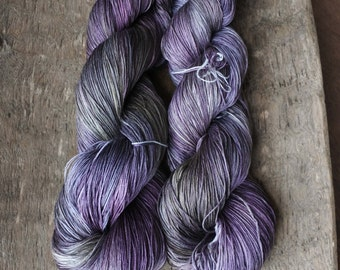 NEW Sinister Violets Heavy Lace Silk Yarn