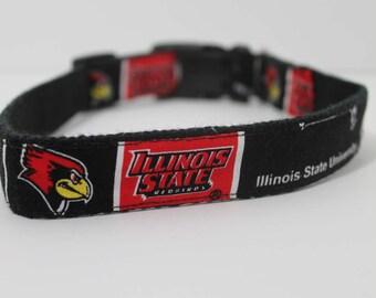 Illinois State hemp dog collar or leash