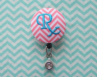 Pharmacist Badge Reel/ Name Badge Holder - Retractable