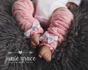 Baby Girl Leg Warmers Clothes Baby Girl Outfit Baby Girl Coming Home Outfit Newborn Baby Girl Leg Warmers with Bows Baby Girl Gift