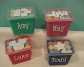 Custom listing for Ami Sidewalk Chalk Great for classroom parties, Party Favors, Free name and design.Makes great give aways