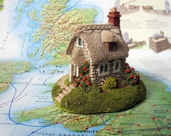 LILLIPUT LANE Wheyside Cottage. 1992. Made in England. Dollhouse  Collectible