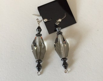 Genuine Swarovski crystals earrings