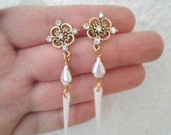 Sailor Moon Earrings - Princess serenity Earrings - Sailor Scout Jewelry