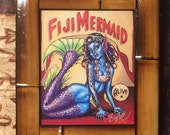 BigToe's Fiji Mermaid Giclee Print on Canvas, item 187