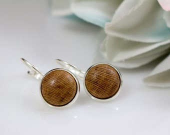 Free Shipping - Old Vine Grapevine Lever Back Earrings - First Edition