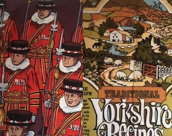 United Kingdom Souvenir Tea Towels