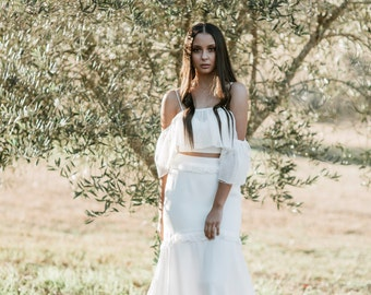 Fishtail bridal skirt - Pania - Sample Sale