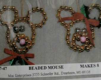 207-46 Beaded Mouse
