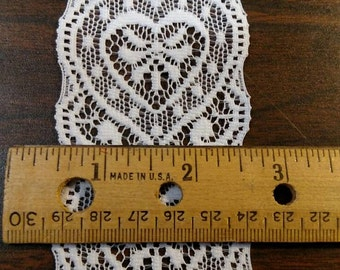 White Heart Lace