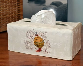 Asian Lantern Large Tissue Box Cover