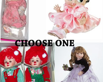 Marie Osmond Baby Boop, Jingle & Belles, Morgan or Valerie Choose One