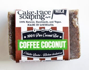 Deodorizing Coffee - Coconut - Cellulite Buster