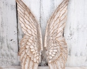 MEGA NEW YEAR Sale Angel Wings with Gold Accents~Wall Wings~Spiritual~Nursery Wall Decor Angel Wings