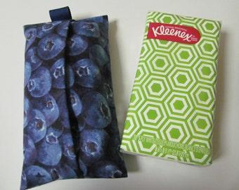 Tissue Case/Blueberry