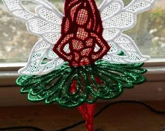 Fairy ornament,lace ornament