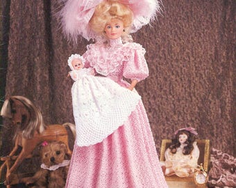 PARADISE PUBLICATIONS P-043 - 1896 Christening Day Costume Crochet Collector Costume Volume 32