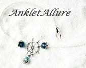 CRUISE LOVER Ankle Bracelet Ships Wheel BEACH Anklet Nautical Anklet for Women Guarantee