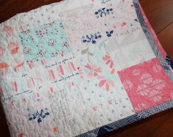 Paperie Baby Girl Quilt