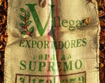 Coffee Bean Bag 36 L by 29 W inch width Burlap Sisal