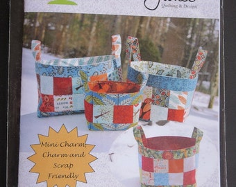 Sweet Jane's - Basket Of Charms Pattern