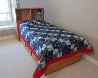 Homemade Twin Quilt - Greatest Adventure