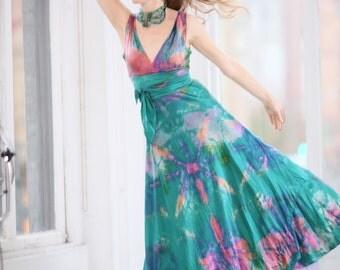 turquoise silk v neck wedding dress multicolored wedding gowns batik wedding dresses mother of the bride crinoline skirts sexy beach dress