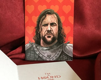 The HOUND Valentine's Day Card Game of Thrones